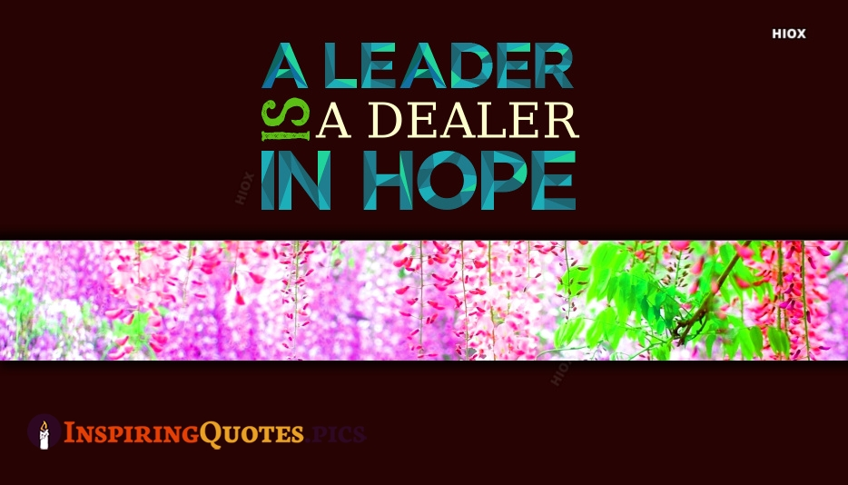 Inspirational Quotes About Leader