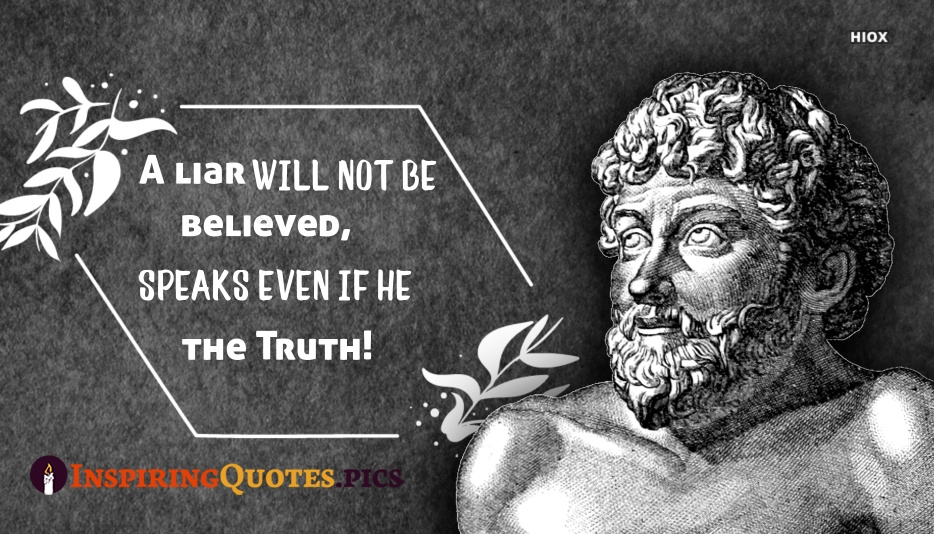 A Liar Will Not Be Believed, Even When He Speaks The Truth - Aesop