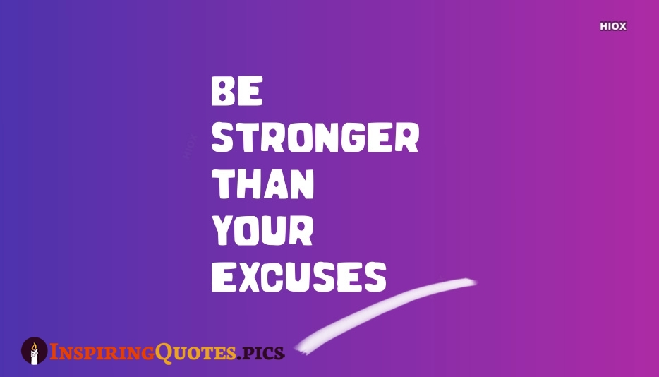 Be Strong Than Your Success Sayings Image