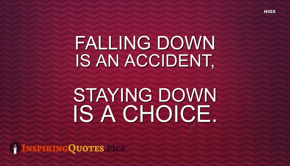 Inspirational Quotes About Falling Down