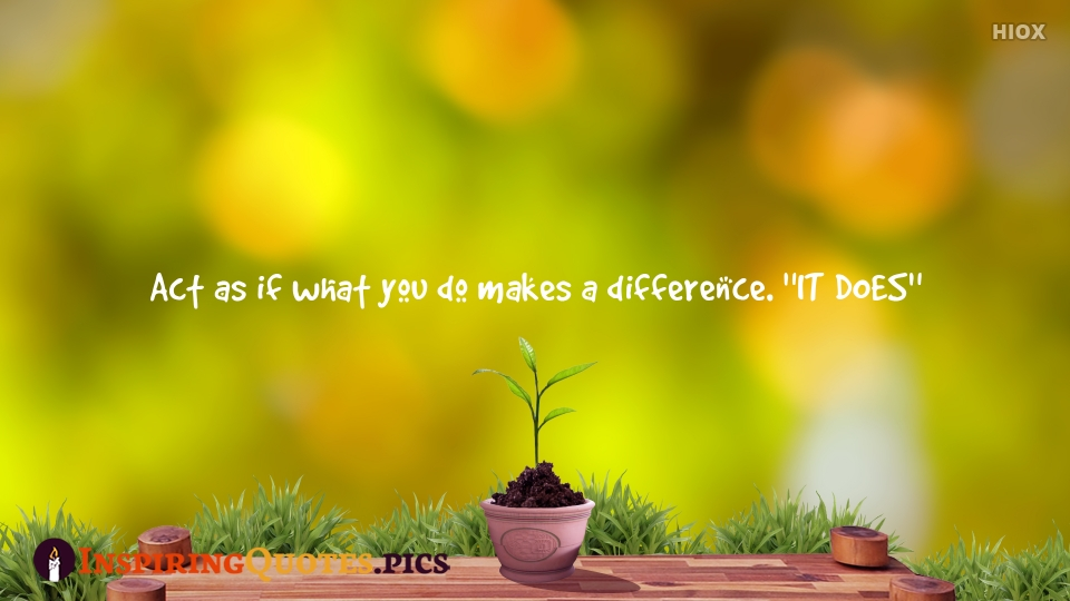 Make The Difference Inspiring Quotes, Inspirational Quotes