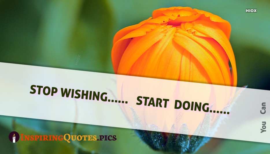 Inspirational Quotes About Wishes