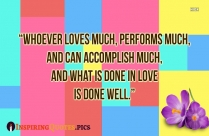 Do With Love Quotes