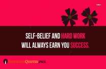 Inspirational Hard Work Pays Off Quote