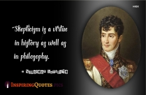 A Soldier Will Fight Long And Hard For A Bit Of Colored Ribbon. - Napoleon Bonaparte